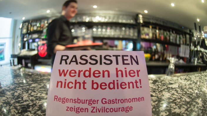 Etwa 200 Regensburger Lokale beteiligen sich an der Aktion gegen Rechts.