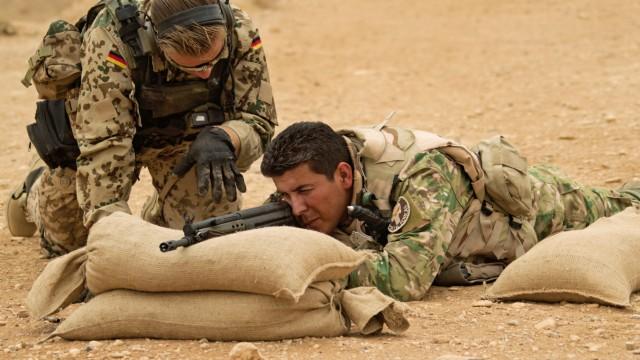Irak: Ausbildung von Milizen durch die Bundeswehr