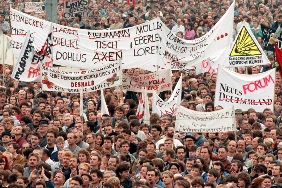 Demonstration am 4. November 1989 in Ost-Berlin