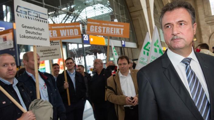 Lokführerstreik - Leipzig