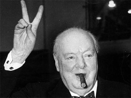 Winston Churchill AP