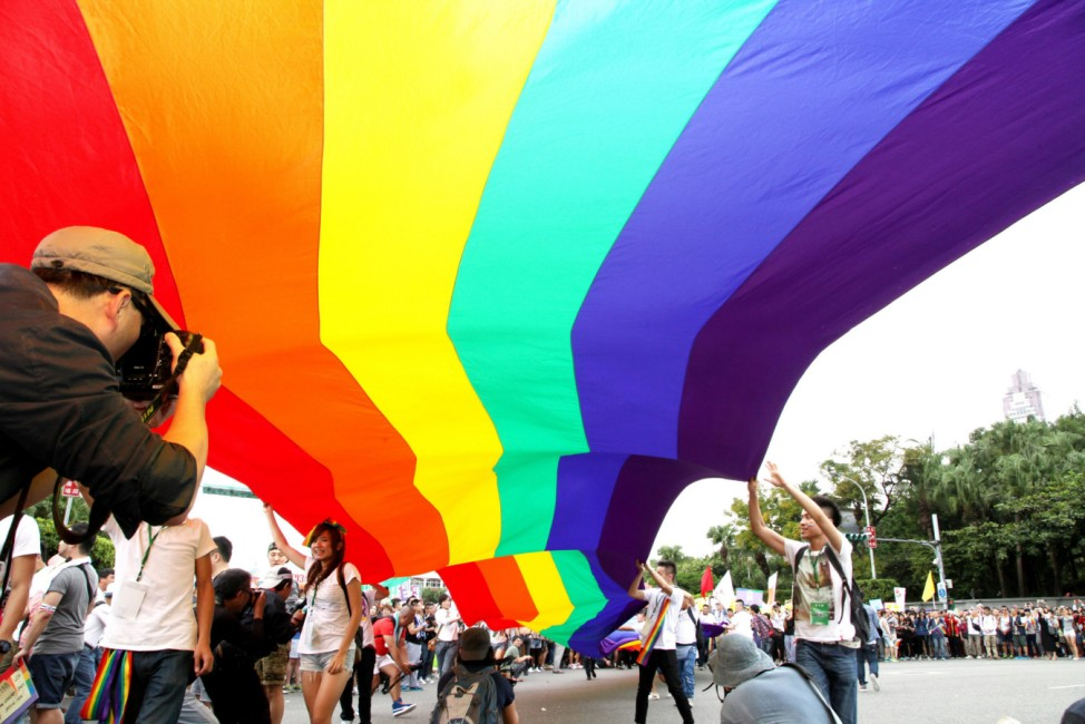 12th annual Taipei Gay Pride march