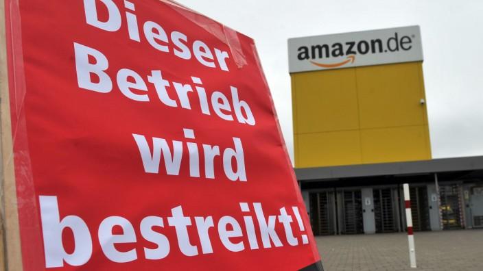 Streik Amazon Graben