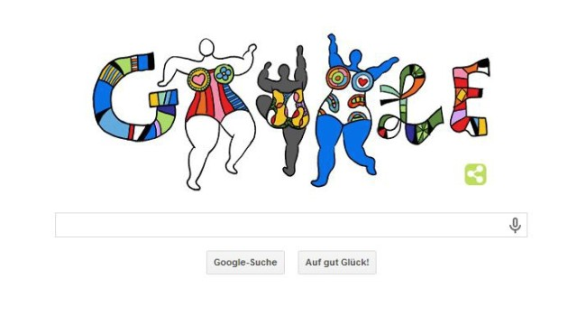 Niki de Saint Phalle Google Doodle