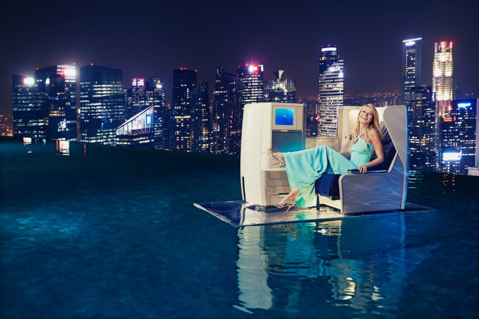 Gwyneth Paltrow Launches British Airways' A380 To Singapore
