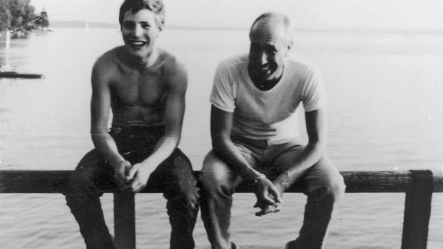 Anatol und Charles Regnier in Ambach