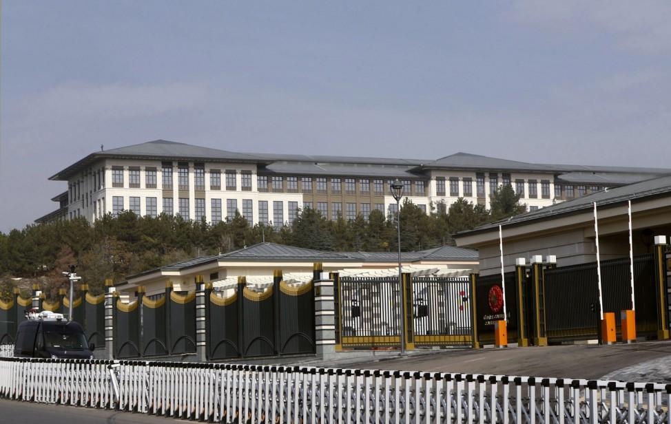 Erdogan Palast Ankara Türkei