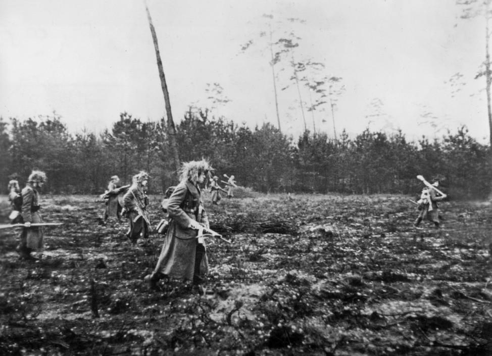 Deutsche Soldaten an der Westfront, 1944