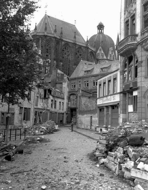 Kämpfe um Aachen, 1944 Zweiter Weltkrieg