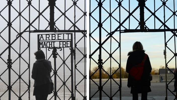 """KZ-Tür mit Aufschrift ´Arbeit macht frei"""" gestohlen"""