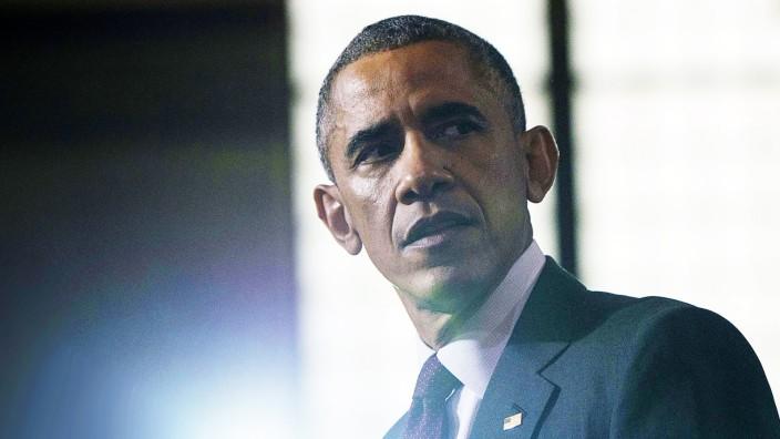 Kongresswahlen in den USA: US-Präsident Obama während des Wahlkampfs im -Bundesstaat Rhode Island