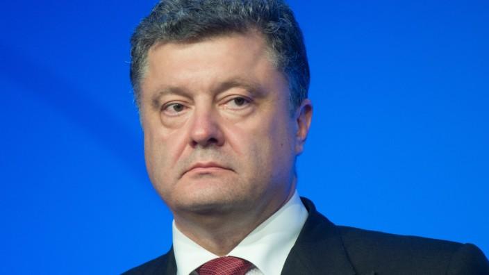 Petro Poroschenko, Präsident der Ukraine