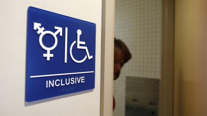 geschlechtsneutrale Toilette Toleranz-Recherche