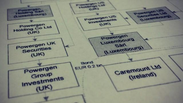 Luxemburg-Leaks: Ausriss aus einem Dokument des Luxemburg-Leaks