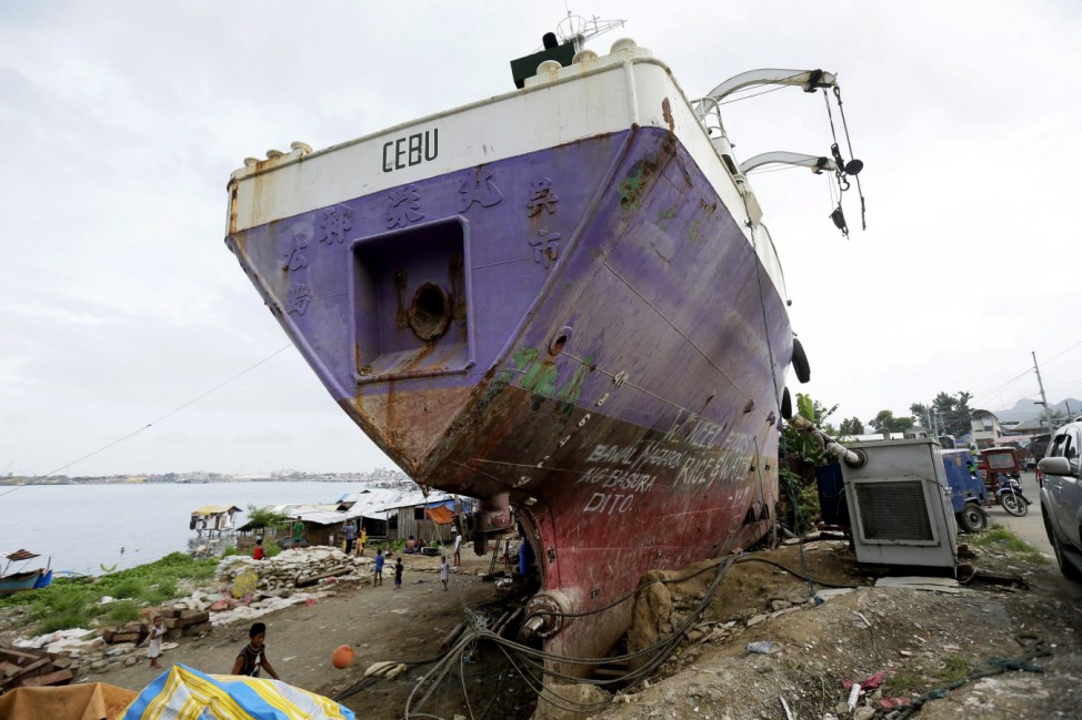 One year anniversary of typhoon Haiyan