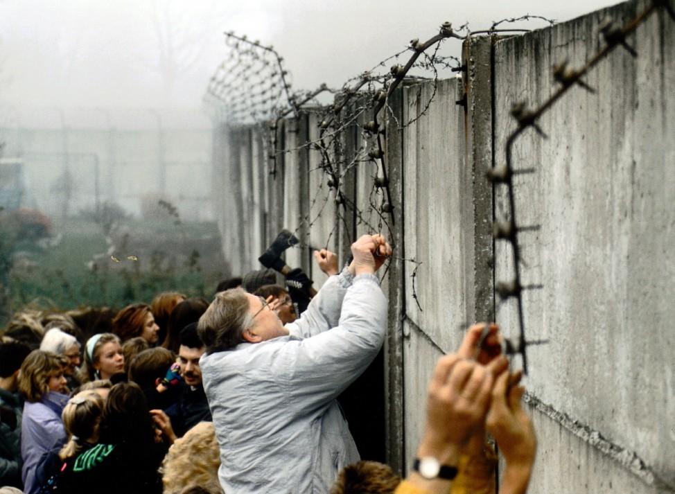 Maueröffnung, 1989
