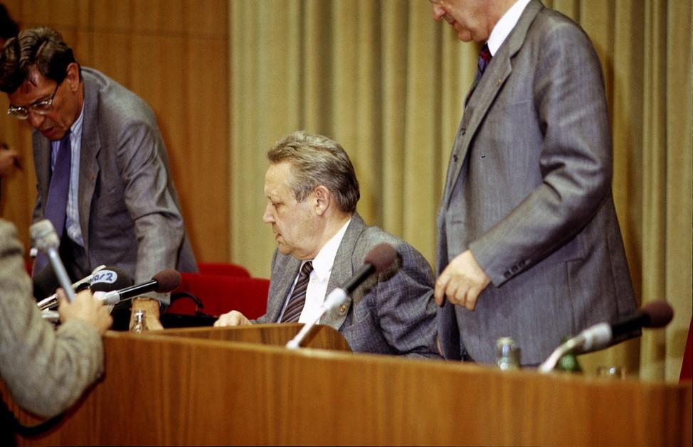 Günter Schabowski, 1989