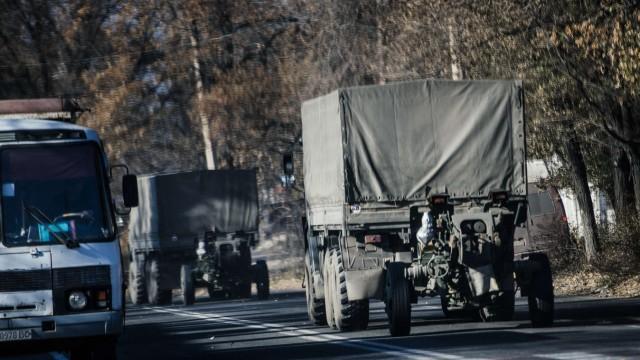 Russland Ukraine Panzer