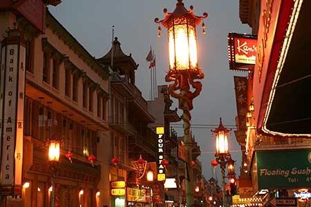 China Town von San Francisco, Jacobi