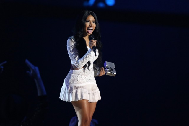 Comic-Domina Nicki Minaj