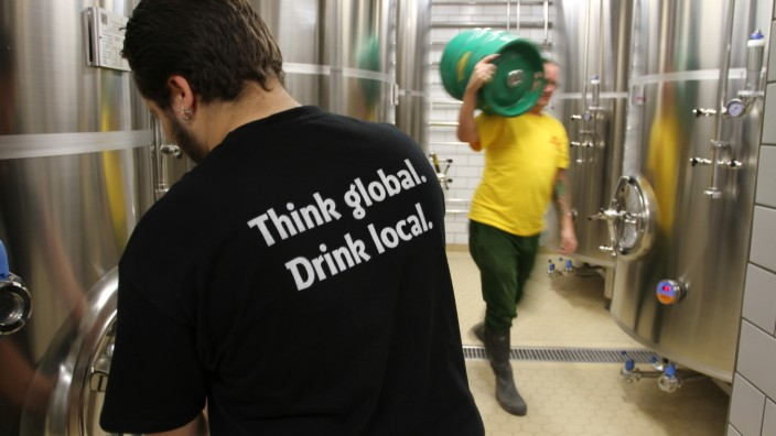 Privatbrauerei in München: Im neuen Gebäude hat die Giesinger Brauerei mehr Platz.