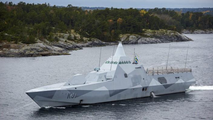 Schweden hat Beweise für ausländisches U-Boot