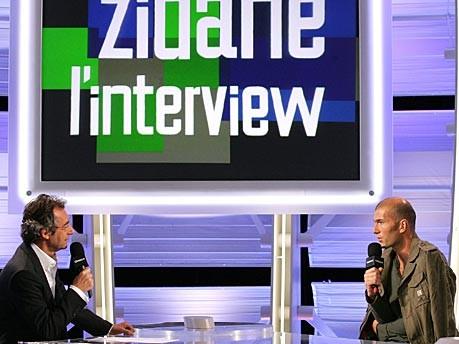 Zidane auf Canal+