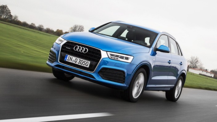 Audi Q3 Facelift.