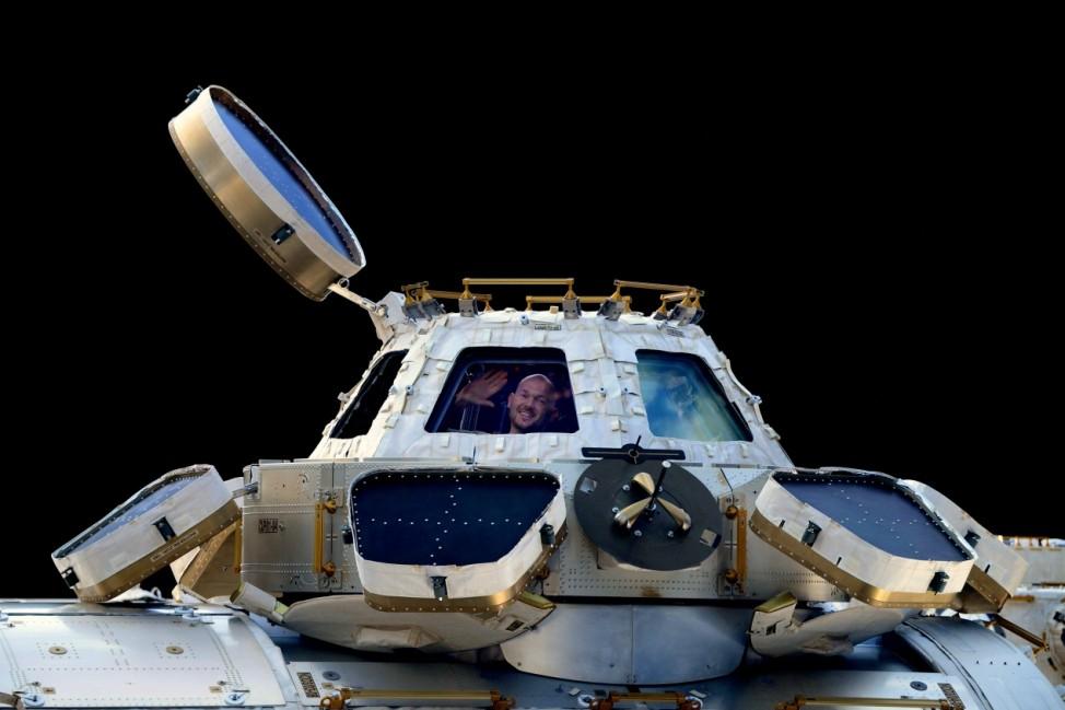 Mission Blue Dot - Astronaut Alexander Gerst im All
