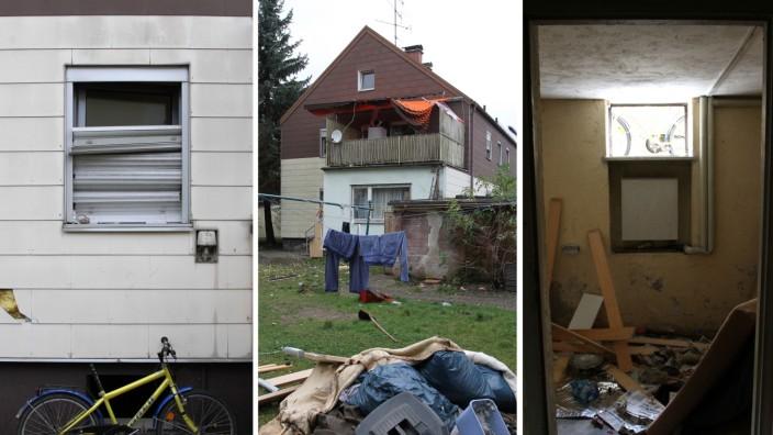 Migranten in München: Ende Oktober lösten die Zustände in einem Haus in Kirchtrudering Empörung aus. Dort lebten bis zu 70 Menschen unter katastrophalen Bedingungen.