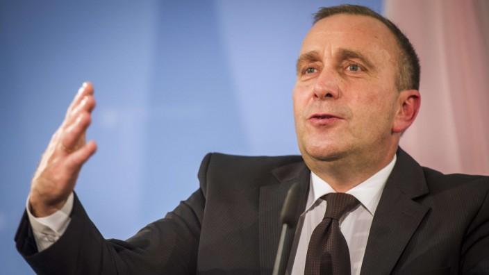 Polen über Russland-Politik der EU: Der polnische Außenminister Grzegorz Schetyna will, dass die EU gegenüber Russland mit einer Stimme spricht.