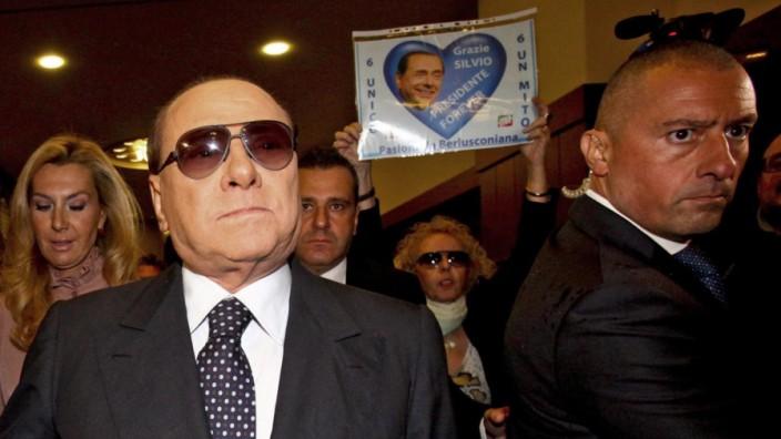 Forza Italia President attends book presentation