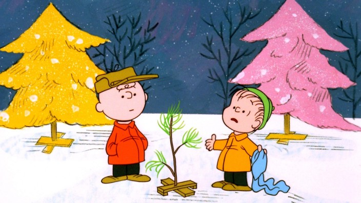 PUBLICITY STILL FROM A CHARLIE BROWN CHRISTMAS TELEVISION SPECIAL