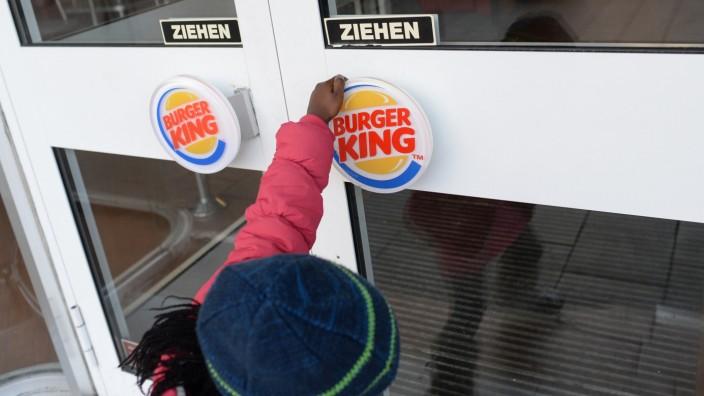 Geschlossene Burger-King-Filiale