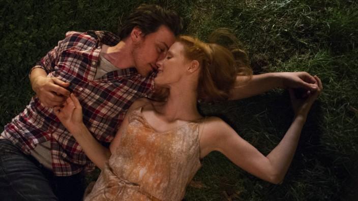 """James McAvoy und Jessica Chastain in einer Szene von """"Das Verschwinden der Eleanor Rigby"""""""