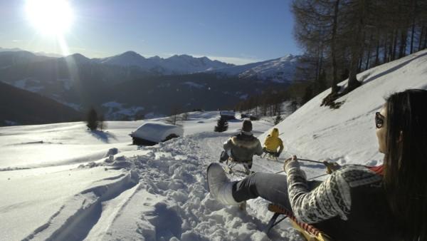 Skigebiete für alle, Rodelbahn Reinswald im Sarntal