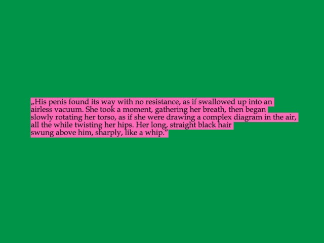 """Passage aus """"Die Pilgerjahre des farblosen Herrn Tazaki"""" von Haruki Murakami"""