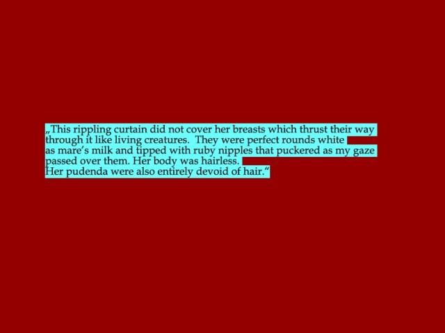 """Passage aus """"Desert God"""" von Wilbur Smith"""