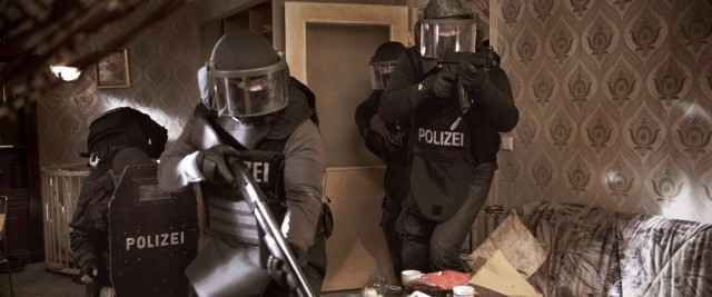 Die SEK-Einheit von Leiter Kevin im Einsatz.