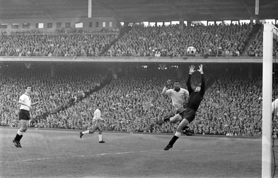1963 Deutschland  - Brasilien 1:2