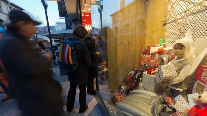 Weihnachtseinkäufe Stuttgart