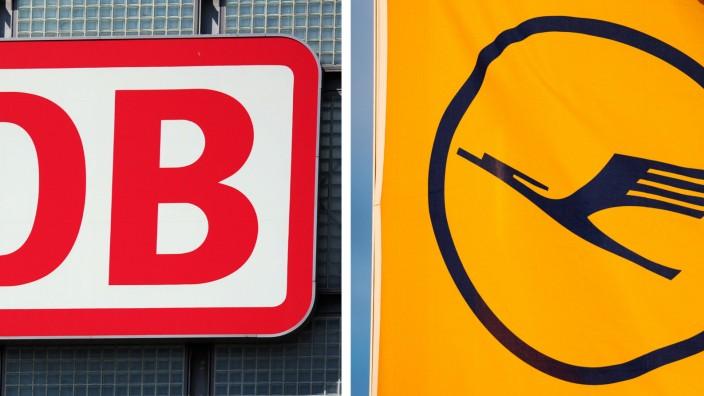 KOMBO - Deutsche Bahn und Lufthansa