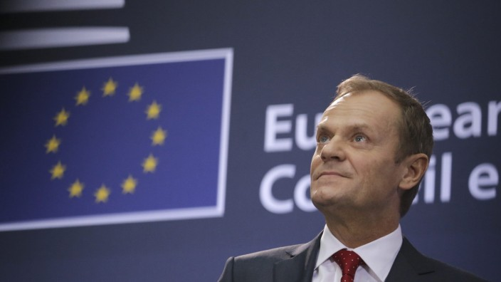 New President of the European Council Donald Tusk