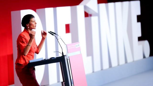 Bundesparteitag - Die Linke Sahra Wagenknecht