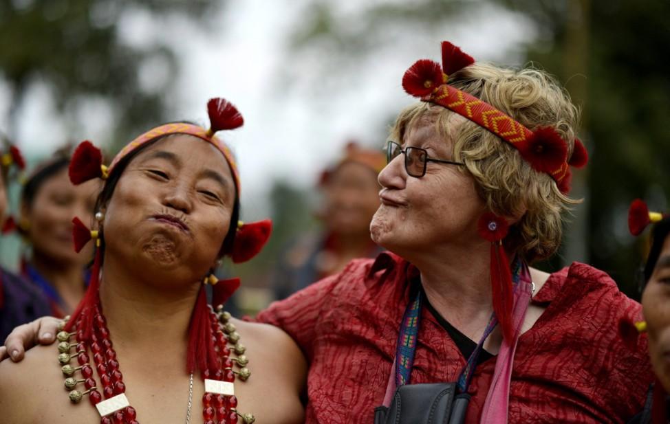 Tribal dance at Hornbill Festival in Kohima