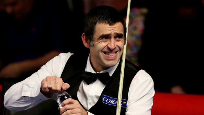 YORK Nov 27 2014 Ronnie O Sullivan of England competes during the Snooker UK Championship 2014
