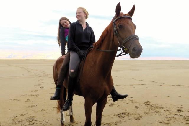 Die Mädchen entdecken ihre gemeinsame Liebe zu Pferden - und zu sich selbst.