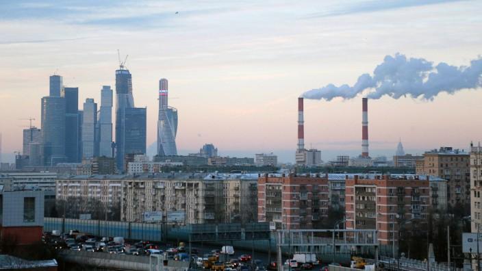 """Moskau - Das Geschäftsviertel """"Moscow Business Centre"""""""