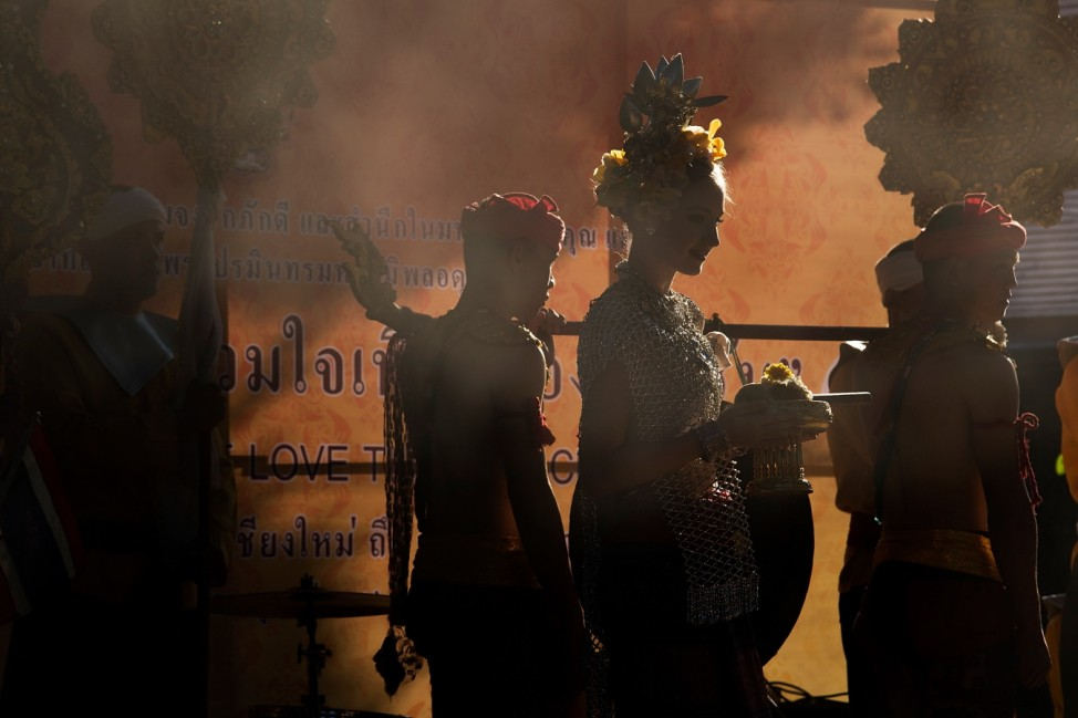 Mass Parade Held In Chiang Mai In Celebration Of The King's Birthday