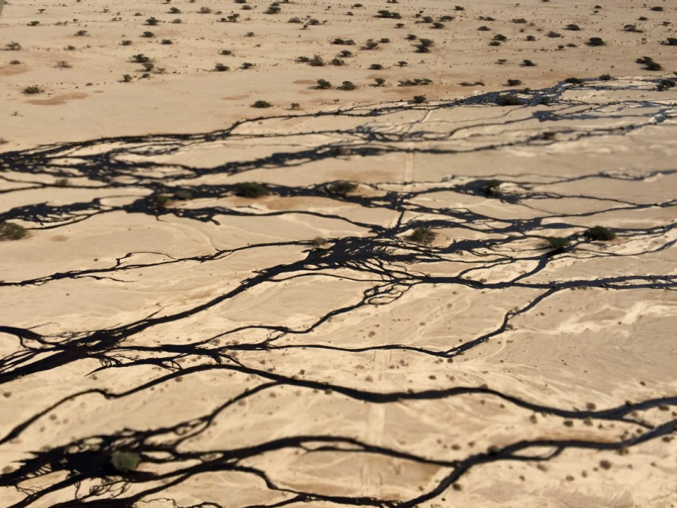 Millions of litres of oil spilled in southern Israel